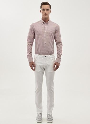 Altınyıldız Classics Likralı Denim Pantolon Beyaz